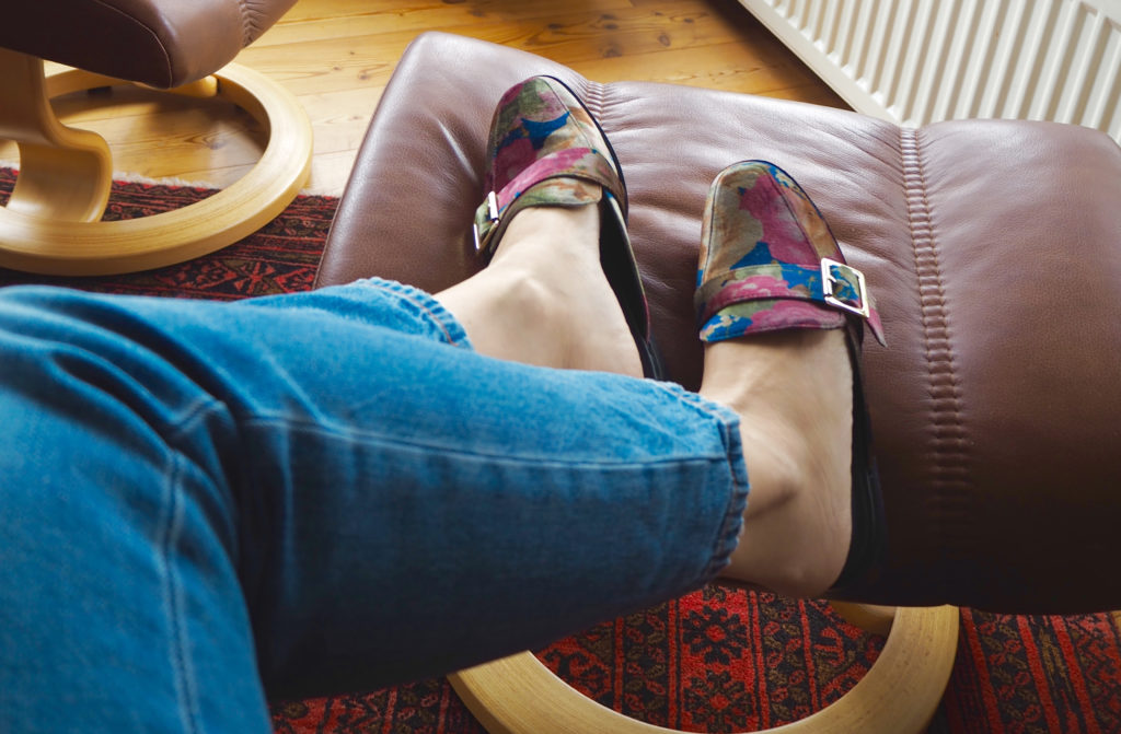 Slippers claudines room
