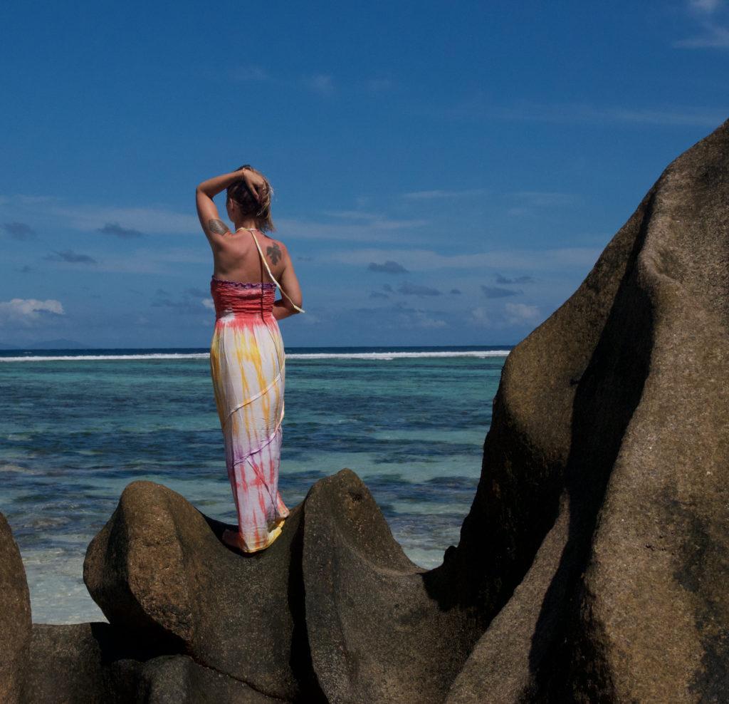 La Digue Seychellen maxi dress Mermaid claudinesroom