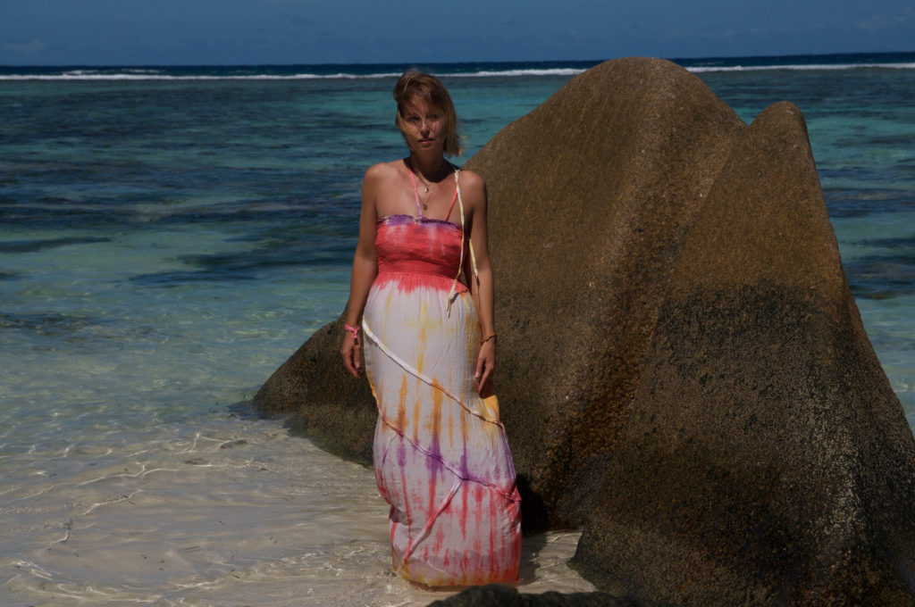 La Digue Seychellen maxi dress Mermaid claudinesroom