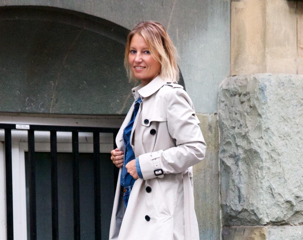 Chloé Susanna and Burberry trench coat - claudinesroom