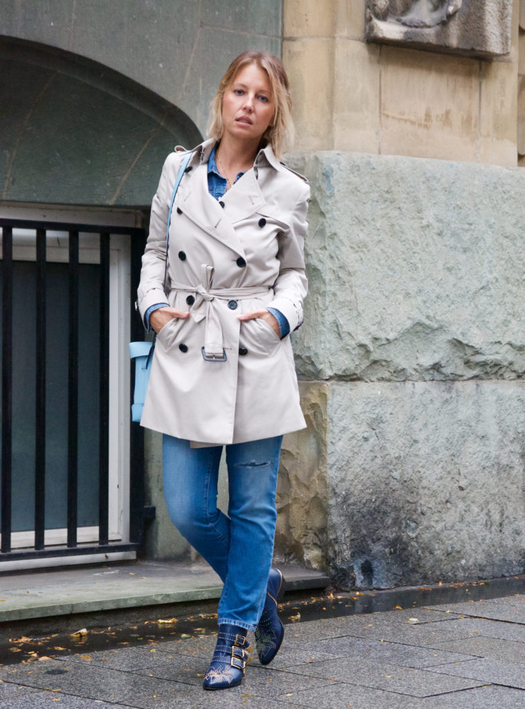 Chloé Susanna and Burberry trench coat - claudinesroom