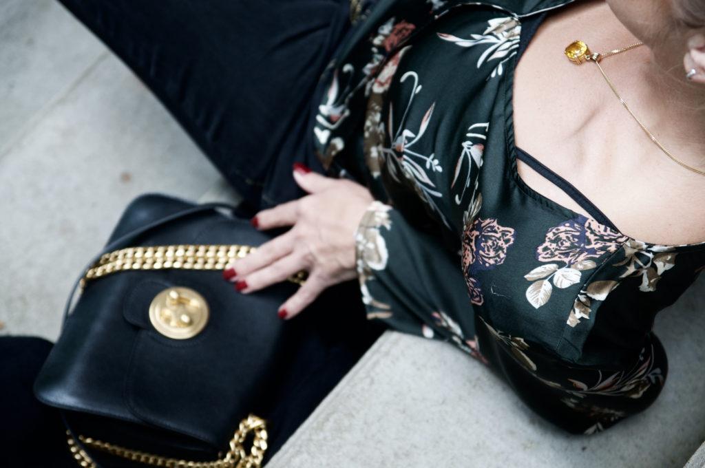 kimono blouse and Chloé Mily - claudinesroom