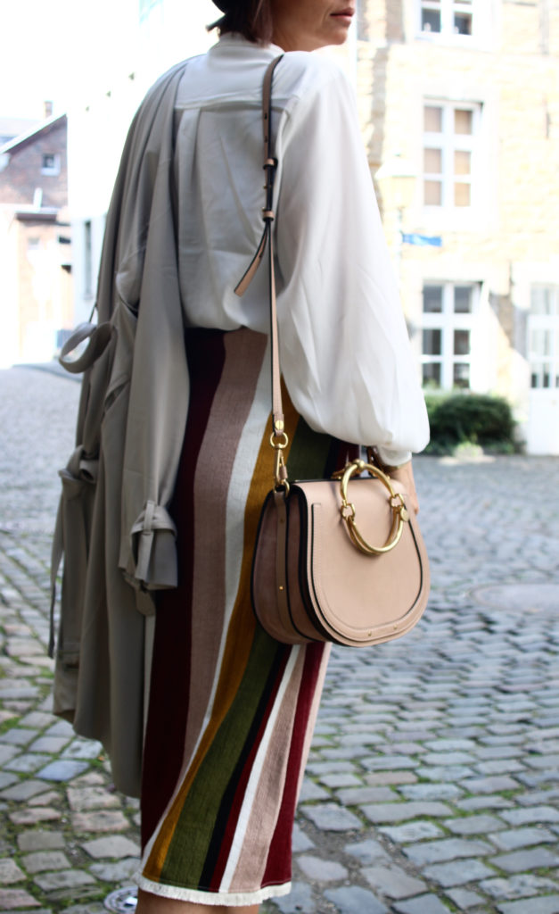 Chloé Nile and wrap skirt for fall - claudinesroom