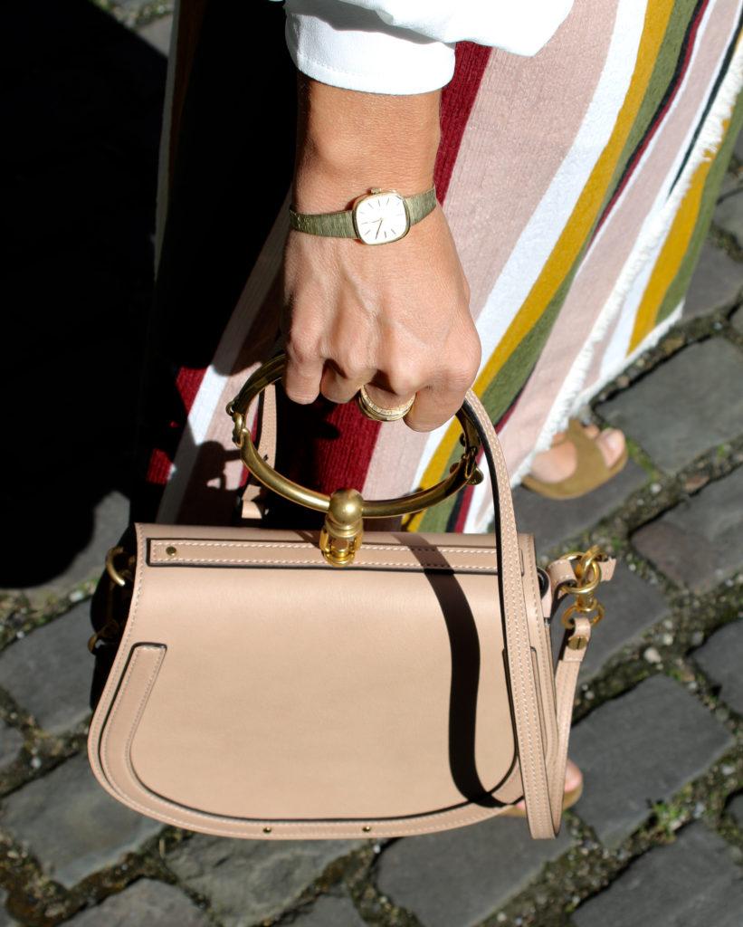 Chloé Nile and wrap skirt for fall - claudinesroom